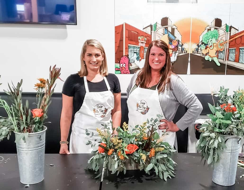 Gulf Coast Mom - Snip & Sip Floral Design Classes